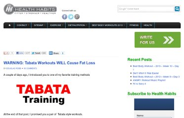 http://www.healthhabits.ca/2009/01/21/warning-tabata-workouts-will-cause-fat-loss/