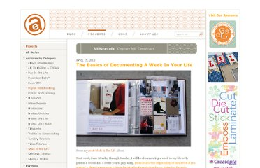 http://aliedwards.com/2010/04/the-basics-of-documenting-a-week-in-your-life.html