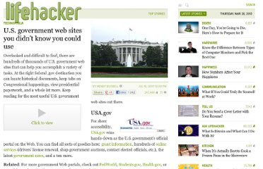 http://lifehacker.com/277405/us-government-web-sites-you-didnt-know-you-could-use