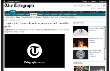http://www.telegraph.co.uk/science/space/8578205/Longest-total-lunar-eclipse-in-11-years-watched-round-the-globe.html