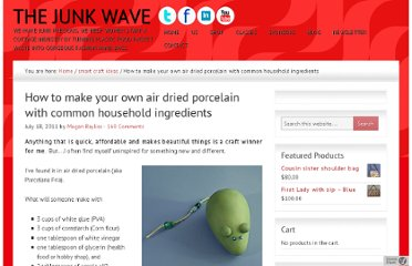 http://thejunkwave.com/2011/07/18/how-to-make-your-own-air-dried-porcelain-with-common-household-ingredients/