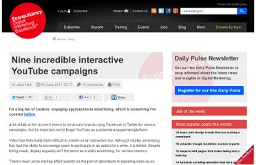 http://econsultancy.com/blog/7617-9-incredible-interactive-youtube-campaigns