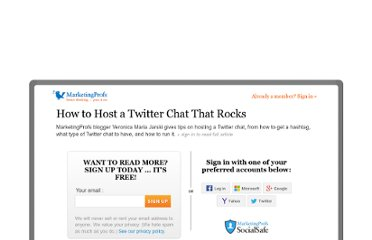 http://www.mpdailyfix.com/how-to-host-a-twitter-chat/
