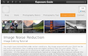 http://www.exposureguide.com/image-noise-reduction.htm