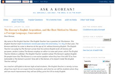 http://askakorean.blogspot.com/2010/01/koreans-english-acquisition-and-best.html