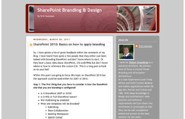 http://erikswenson.blogspot.com/2011/03/sharepoint-2010-basics-on-how-to-apply.html