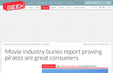 http://www.geek.com/articles/geek-cetera/movie-industry-bins-report-proving-pirates-are-great-consumers-20110720/