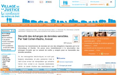 http://www.village-justice.com/articles/Securite-echanges-donnees-sensibles,10581.html