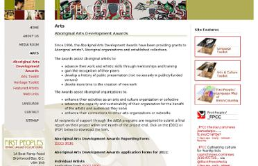 http://www.fphlcc.ca/arts/aboriginal-arts-development-awards