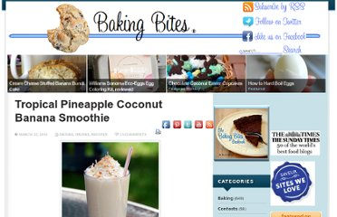 http://bakingbites.com/2010/03/tropical-pineapple-coconut-banana-smoothie/