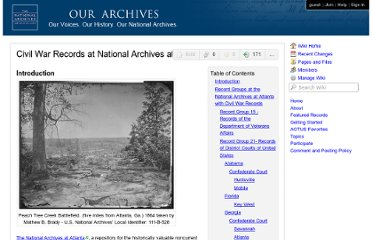 http://www.ourarchives.wikispaces.net/Civil+War+Records+at+National+Archives+at+Atlanta