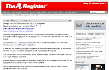 http://www.theregister.co.uk/2011/07/21/google_labs_killed/