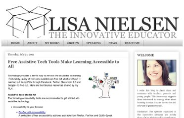http://theinnovativeeducator.blogspot.com/2011/07/free-assistive-technology-tools-to-make.html