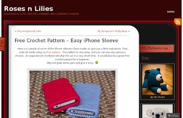 http://rosesnlilies.wordpress.com/2011/06/13/free-iphone-crochet-pattern/