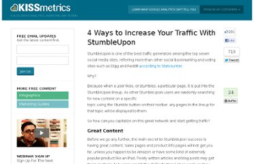 http://blog.kissmetrics.com/increase-traffic-with-stumbleupon/