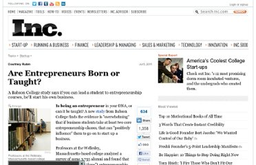 http://www.inc.com/news/articles/201107/study-says-entrepreneurship-can-be-taught.html