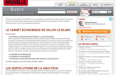 http://blog.usinenouvelle.com/intelligence-economique/
