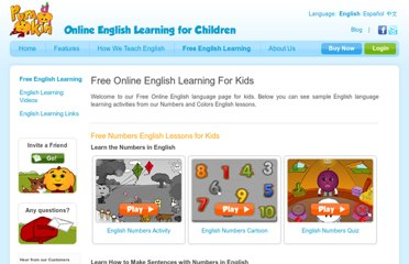 http://pumkin.com/learn-english-language/free-english-learning/english-for-kids