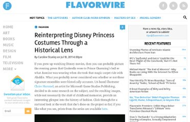 http://flavorwire.com/195401/reinterpreting-disney-princess-costumes-through-a-historical-lens