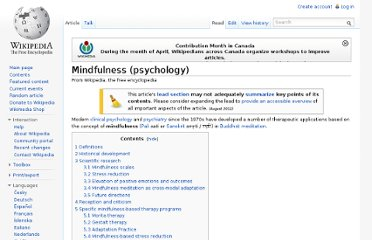 http://en.wikipedia.org/wiki/Mindfulness_(psychology)