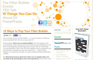 http://www.thefilterbubble.com/10-things-you-can-do