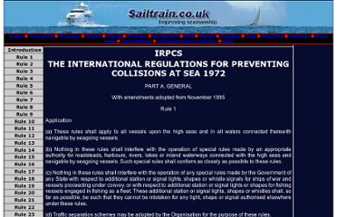 http://www.sailtrain.co.uk/Irpcs/internat.htm