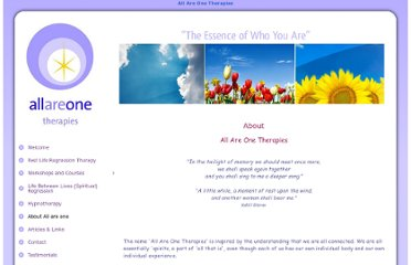 http://www.allareonetherapies.co.uk/5/About-All-are-one.html