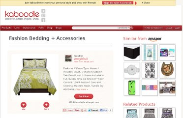 http://www.kaboodle.com/reviews/fashion-bedding-accessories-6