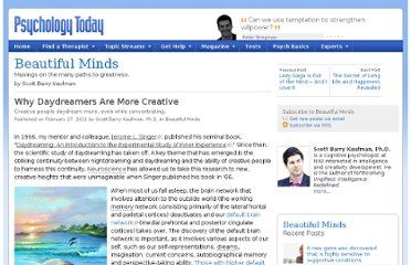 http://www.psychologytoday.com/blog/beautiful-minds/201102/why-daydreamers-are-more-creative