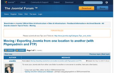 http://forum.joomla.org/viewtopic.php?t=5556