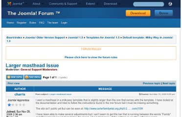 http://forum.joomla.org/viewtopic.php?p=1627113