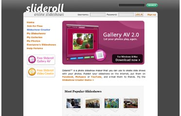 http://www.slideroll.com/index.php?&tag=Login%20Successful&good_message=logged_in
