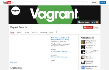 http://www.youtube.com/user/vagrantrecords