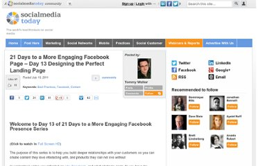 http://socialmediatoday.com/tommyismyname/321626/21-days-more-engaging-facebook-page-day-13-designing-perfect-landing-page