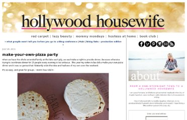 http://www.hollywoodhousewife.com/2011/07/make-your-own-pizza-party.html