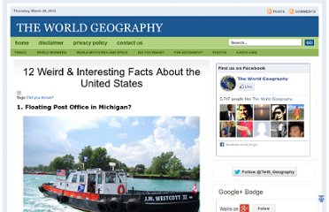 http://www.theworldgeography.com/2011/07/12-weird-interesting-facts-about-united.html