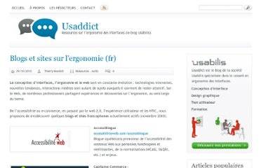 http://www.ergonomie-interface.com/ressources-informations-ouvrages-outils/liste-blogs-sites/