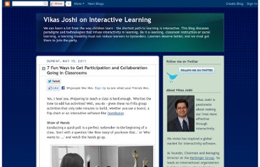 http://learningharbinger.blogspot.com/2011/05/7-fun-ways-to-get-participation-and.html