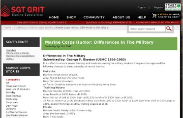 http://www.grunt.com/corps/scuttlebutt/marine-corps-stories/marine-corps-humor-differences-in-the-military/