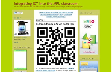 http://joedale.typepad.com/integrating_ict_into_the_/2011/07/ipod-touch-training-in-mfl.html