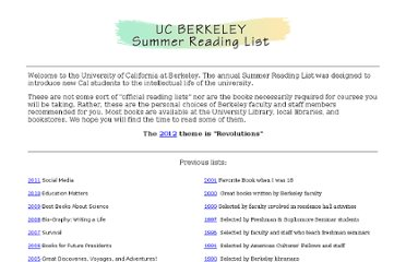 http://www.lib.berkeley.edu/instruct/readinglists/index.html