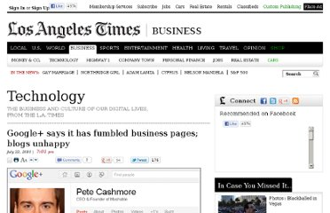 http://latimesblogs.latimes.com/technology/2011/07/google-business-pages-are-coming-and-the-web-is-grumbling.html