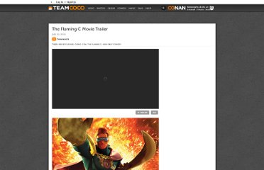 http://teamcoco.com/video/flaming-c-movie-trailer