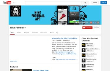 http://www.youtube.com/user/NikeFootball