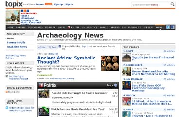 http://www.topix.com/science/archaeology