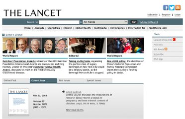 http://www.thelancet.com/journals/lancet/issue/current
