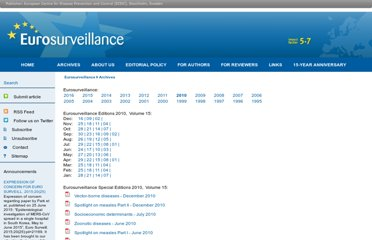 http://www.eurosurveillance.org/Public/Articles/Archives.aspx?PublicationId=11519