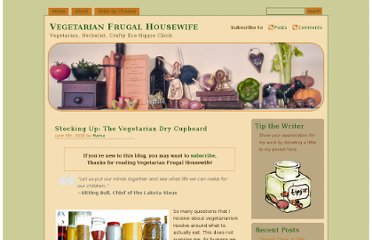 http://vegfrugalhousewife.com/2008/06/06/stocking-up-the-vegetarian-dry-cupboard/