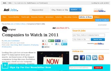 http://jobs.aol.com/articles/2011/01/24/companies-to-watch-in-2011/