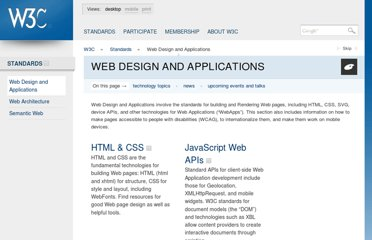 http://www.w3.org/standards/webdesign/